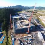 株式会社ナカニシ新本社・R&Dセンター「RD1」 新築工事 施工中
