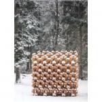 Arte Sellaに立体木格子が出展されました
